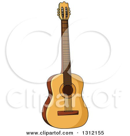 Royalty-Free (RF) Acoustic Guitar Clipart, Illustrations, Vector ...