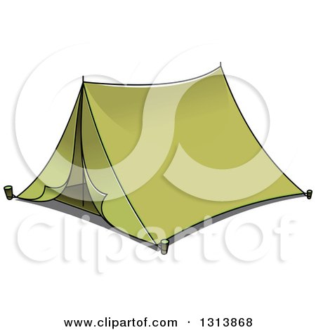 Clipart of a Cartoon Green Tent 2 - Royalty Free Vector Illustration by Vector Tradition SM  sc 1 st  Clipart Of & Clipart of a Cartoon Green Tent 2 - Royalty Free Vector ...