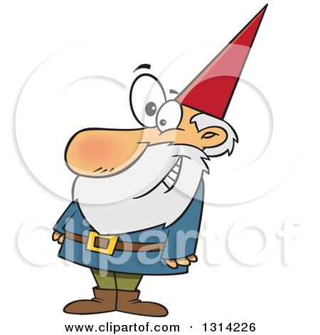 Royalty Free Vector Clip Art Illustration Of A Gnome By
