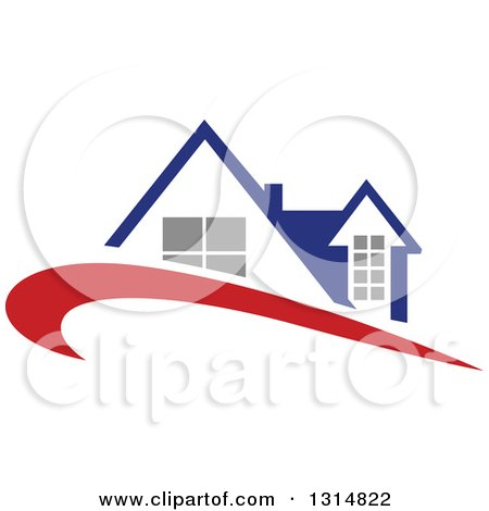 Royalty Free Rf Roofing Logo Clipart Illustrations
