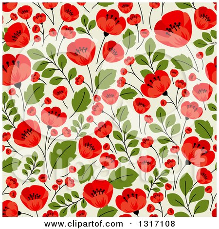 clipart of a seamless red poppy flowers on green floral black history clipart images black history clipart flyers
