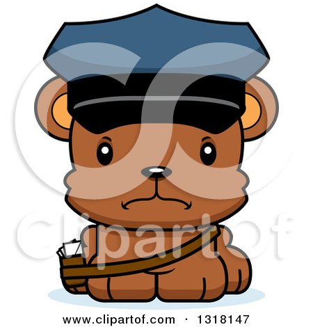 Royalty-Free (RF) Bear Mailman Clipart, Illustrations, Vector ...