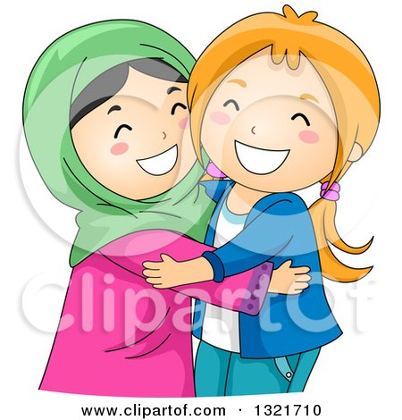 Royalty-Free (RF) Muslim Clipart, Illustrations, Vector Graphics #1