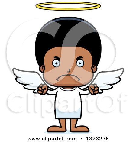 Royalty-Free (RF) Boy Angel Clipart, Illustrations, Vector Graphics #1