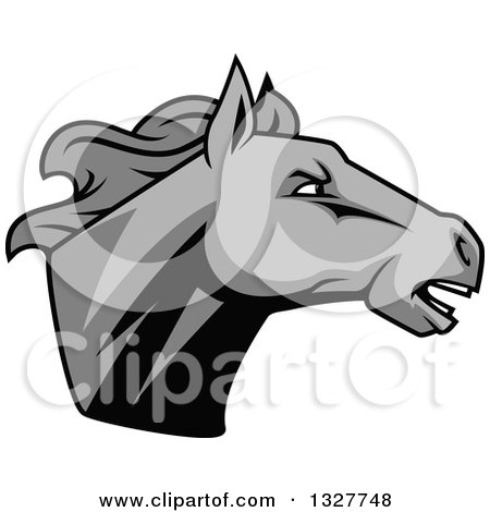Royalty free rf horse head clipart illustrations for Clipart mare
