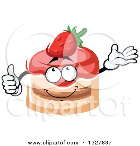 Strawberry Cake Cartoon Images : Royalty-Free (RF) Strawberry Cake Clipart, Illustrations ...
