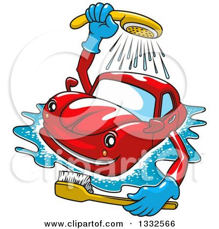Royalty-Free (RF) Clipart of Car Washes, Illustrations, Vector ...