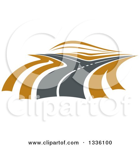 Royalty-Free (RF) Highway Clipart, Illustrations, Vector Graphics #1