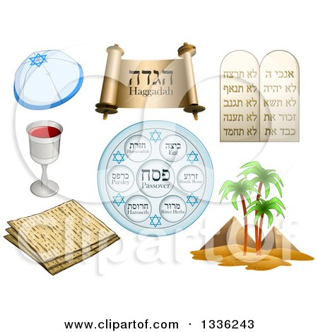 Royalty-Free (RF) Passover Clipart, Illustrations, Vector Graphics #1