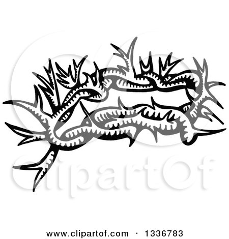 Royalty-Free (RF) Clipart of Thorns, Illustrations, Vector Graphics #1