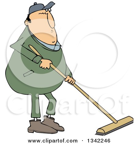 Royalty-Free (RF) Clipart of Brooms, Illustrations, Vector Graphics #1