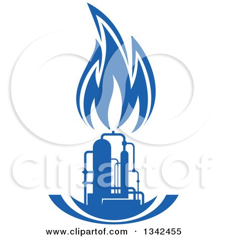 Royalty-Free (RF) Blue Flame Clipart, Illustrations ...