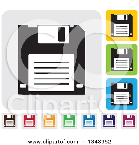 Royalty-Free (RF) Floppy Disk Clipart, Illustrations, Vector ...