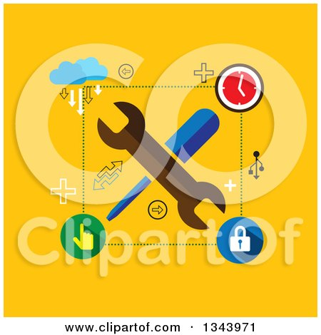 Royalty-Free (RF) Setting Clipart, Illustrations, Vector Graphics #1