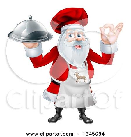 Royalty-Free (RF) Christmas Dinner Clipart, Illustrations, Vector ...