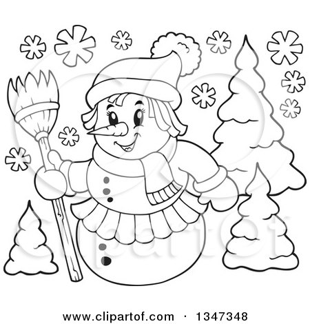 broom tree coloring pages - photo#14