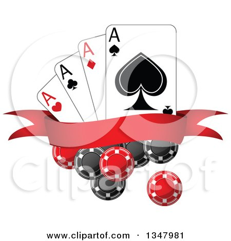 Royalty-Free (RF) Poker Clipart, Illustrations, Vector Graphics #1
