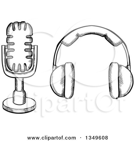 4 vintage retro microphone 4 free engine image for user for Vector canape user manual