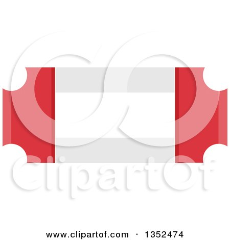 Clipart of a Magic Show Ticket Border - Royalty Free Vector Illustration by BNP Design Studio
