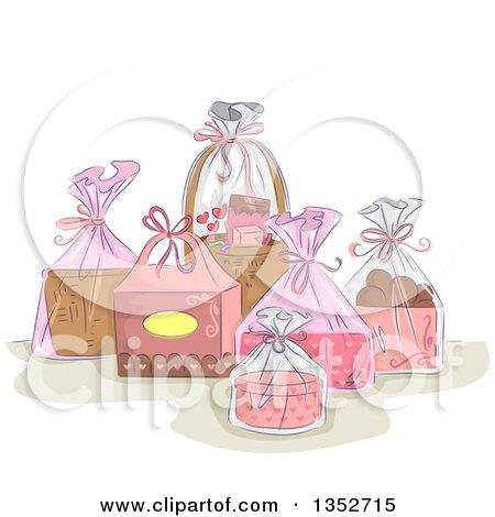 Pink Hearts Clip Art