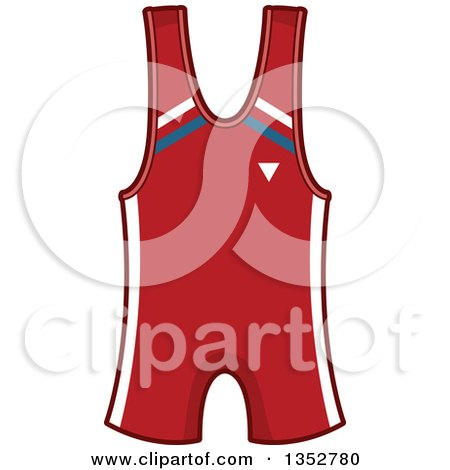 Clipart of a Wrestling Outfit - Royalty Free Vector Illustration by BNP Design Studio