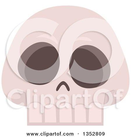 Clipart of a Skull - Royalty Free Vector Illustration by BNP Design Studio