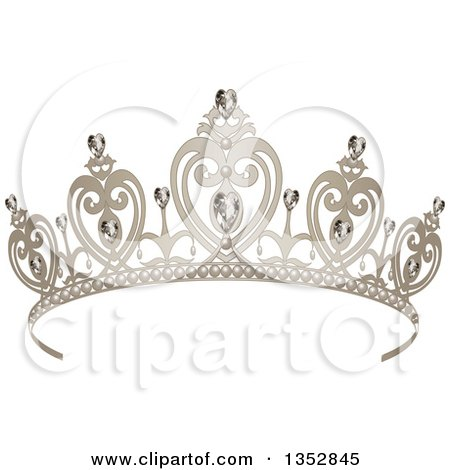 Royalty-Free (RF) Crown Clipart, Illustrations, Vector Graphics #1