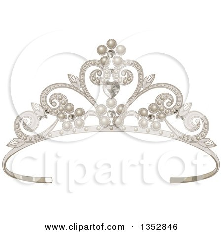 Clipart Pink Tiara - Royalty Free Vector Illustration by Pushkin ...