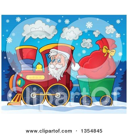 38c35d83e77d1 Royalty-Free (RF) Santas Sack Clipart
