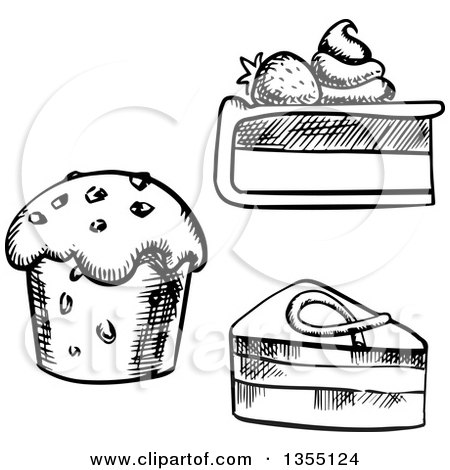 Royalty-Free (RF) Cheesecake Clipart, Illustrations, Vector ...