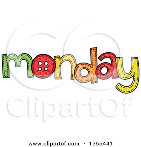 Monday Word Royalty-Free (R...