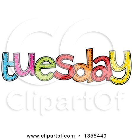 Royalty-Free (RF) Day Of The Week Clipart, Illustrations, Vector ...