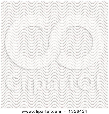Clipart of a Seamless Background of White Sand Waves - Royalty Free Vector Illustration by michaeltravers