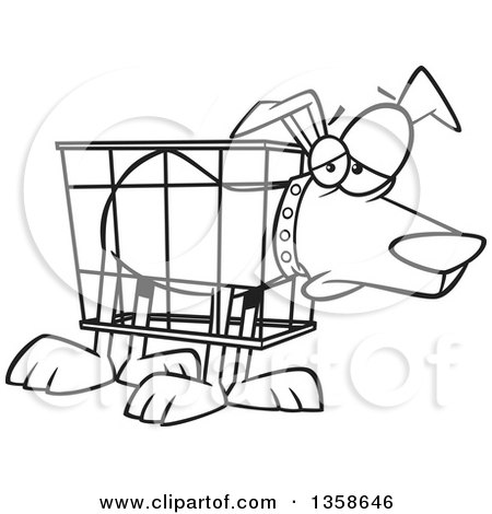 Royalty Free Rf Crate Training Clipart Illustrations Vector