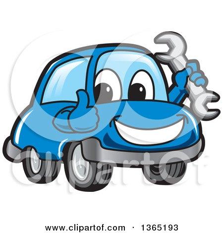 Royalty free rf clipart illustration of a garage door for Garage happy car