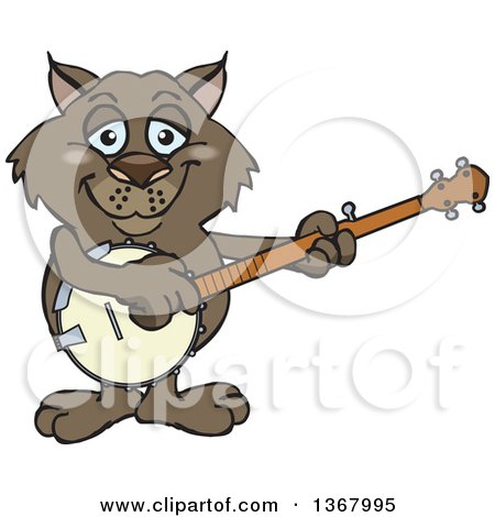Clipart of a Cute Happy Wombat - Royalty Free Vector Illustration ...
