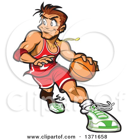 Royalty-Free (RF) Basketball Clipart, Illustrations, Vector ...