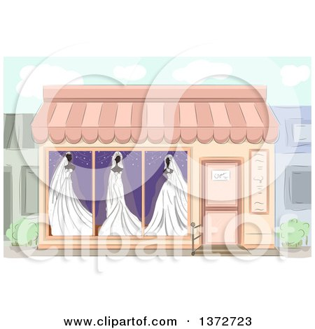 Royalty Free Rf Boutique Clipart Illustrations Vector