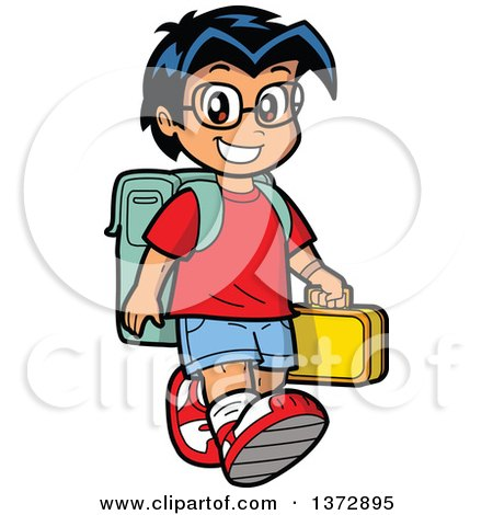 royalty free school illustrations by clip art mascots page 1 rh clipartof com hispanic girl clipart hispanic girl clipart