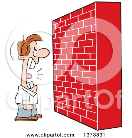 Clipart Blank White Sign Board On A Brick Wall - Royalty Free ...