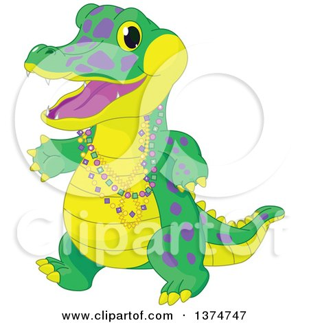 Royalty-Free (RF) Alligator Clipart, Illustrations, Vector Graphics #1