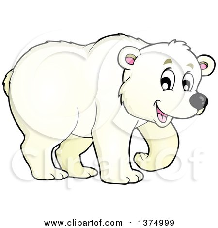 Royalty-Free (RF) Clipart of Polar Bears, Illustrations, Vector ...