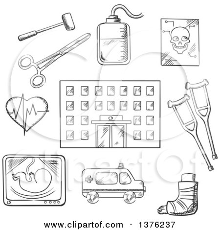 Organ Posters & Organ Art Prints #2 Veterinary Tools Clip Art