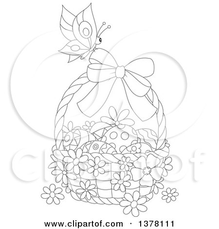 butterfly easter egg coloring pages - photo#7