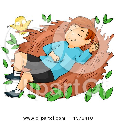 Clipart Of A Cartoon Caucasian Woman Tossing And Tumbling