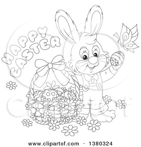 butterfly easter egg coloring pages - photo#18