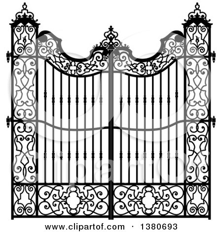 Royalty Free Rf Clipart Of Gates Illustrations Vector