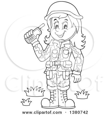 Royalty-Free (RF) Walkie Talkie Clipart, Illustrations, Vector ...