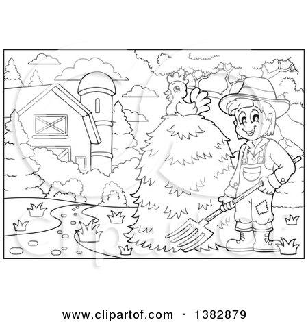 Royalty Free Livestock Illustrations by visekart Page 1
