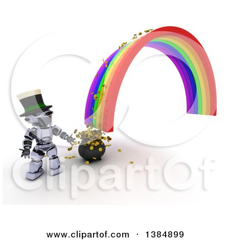 Royalty-Free (RF) End Of The Rainbow Clipart, Illustrations ...